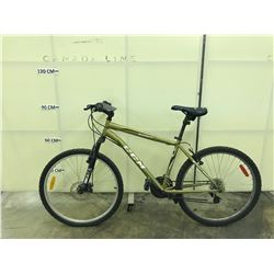 SAND COLOURED CCM SCOUT 21 SPEED FRONT SUSPENSION MOUNTAIN BIKE WITH FRONT DISC BRAKES