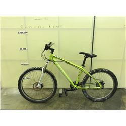 GREEN CANNONDALE FIVE 24 SPEED FRONT SUSPENSION MOUNTAIN BIKE