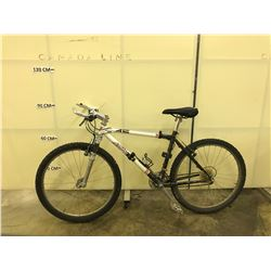 WHITE AND BLACK BARRACUDA A2C 21 SPEED FRONT SUSPENSION ROAD BIKE