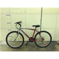 GREY AND RED ORYX VOLT 26 MOUNTAIN BIKE