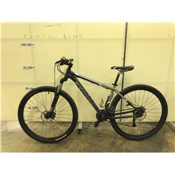 GREY TREK MARLIN 24 SPEED FRONT SUSPENSION WITH FRONT AND BACK HYDRAULIC DISC BRAKES