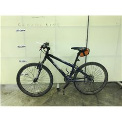 BLACK AND BLUE GARY FISHER ADVANCE 24 SPEED FRONT SUSPENSION MOUNTAIN BIKE