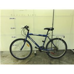 BLUE SUPERCYCLE SC1800 18 SPEED MOUNTAIN BIKE