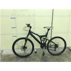BLACK RALEIGH TORA 21 SPEED FULL SUSPENSION MOUNTAIN BIKE