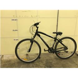 BLACK INFINITY COPPERHEAD 21 SPEED FRONT SUSPENSION MOUNTAIN BIKE