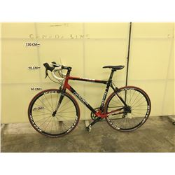 BLACK AND RED BMC SSX01 STREETFIRE 22 SPEED ROAD BIKE