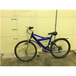 BLUE NO NAME FRONT SUSPENSION TRAIL BIKE