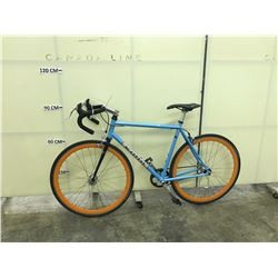 BLUE KONA BAND WAGON SINGLE SPEED ROAD BIKE