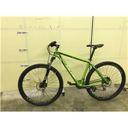 GREEN RALEIGH TEKOR 24 SPEED FRONT SUSPENSION MOUNTAIN BIKE