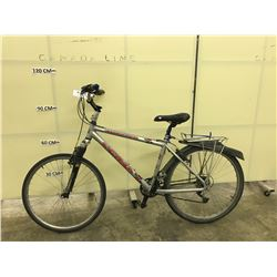 GREY KONA FIRE MOUNTAIN 21 SPEED FRONT SUSPENSION MOUNTAIN BIKE