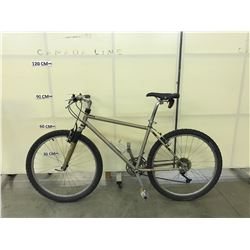 BROWN NO NAME 21 SPEED FRONT SUSPENSION MOUNTAIN BIKE