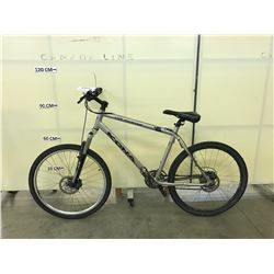GREY KONA FIRE MOUNTAIN 24 SPEED FRONT SUSPENSION MOUNTAIN BIKE WITH FRONT AND REAR DISC BRAKES