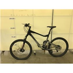 BLACK GIANT MAESTRO 21 SPEED FULL SUSPENSION MOUNTAIN BIKE WITH FRONT AND BACK REAR HYDRAULIC DISC