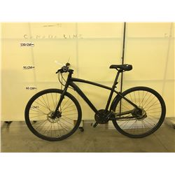 BLACK NO NAME 24 SPEED  ROAD BIKE WITH FRONT AND REAR DISC BRAKES