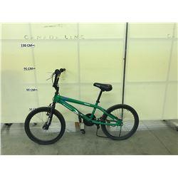 GREEN REEBOK BMX BIKE