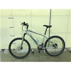 GREY NORCO XFR 24 SPEED FRONT SUSPENSION MOUNTAIN BIKE WITH FRONT AND REAR DISC BRAKES