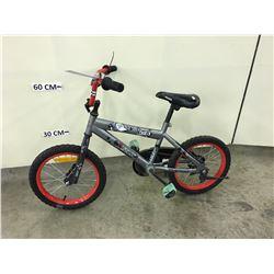 GREY ROSS KIDS BMX BIKE