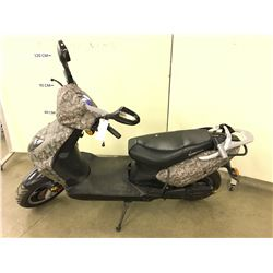 CAMO MOTORINO ELECTRIC SCOOTER, WITH KEY, NO CHARGER