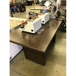 DARK WOOD 5' X 2.5' CONFERENCE TABLE