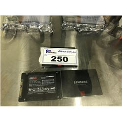 3X SAMSUNG V-NAND 850 PRO 256 GB SSDS