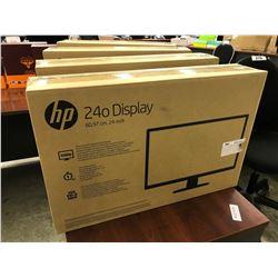 HP 24'' FLATSCREEN MONITOR, NEW IN BOX