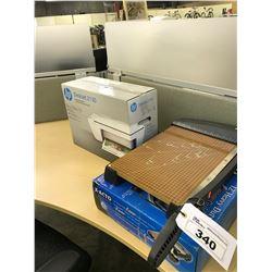 2 PAPER CUTTERS AND HP DESKJET 2130 PRINTER
