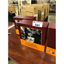 13 GEORGE HARRISON SOLO ALBUMS AND 2 COLLECTORS' PICTURE DISC BOX SET