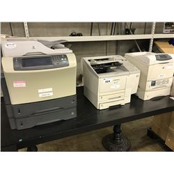 LOT OF 3 HP AND CANON PRINTERS
