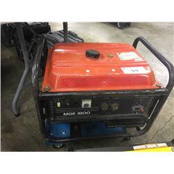 MGE 1800 WATT GAS GENERATOR
