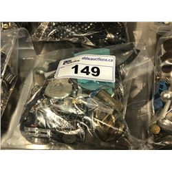 BAG OF ASSORTED WATCHES AND COSTUME JEWELLERY
