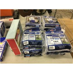LOT OF FOLD-A-CARRIER COLLAPSIBLE WATER CARRIERS AND TWIN AIR BED