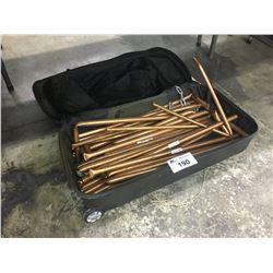 BAG OF COPPER PIPE