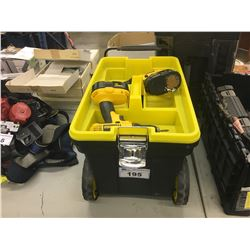 TOOL BOX WITH CONTENTS INC. ASSORTED TOOLS