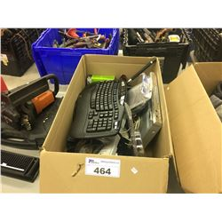 BOX OF ASSORTED ELECTRONICS AND MORE