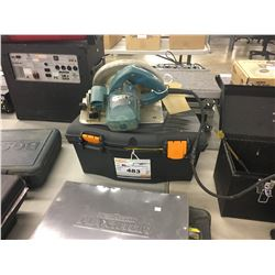 MILWAUKEE CIRCULAR SAW AND TOOL BOX WITH CONTENTS