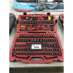 STANLEY SOCKET/WRENCH SET