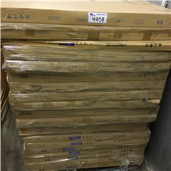 PALLET OF CHERRY, ROUND CONFERENCE TABLE TOPS