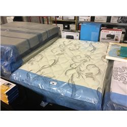 SERTA PILLOWTOP QUEEN SIZE MATTRESS AND BOXSPRING