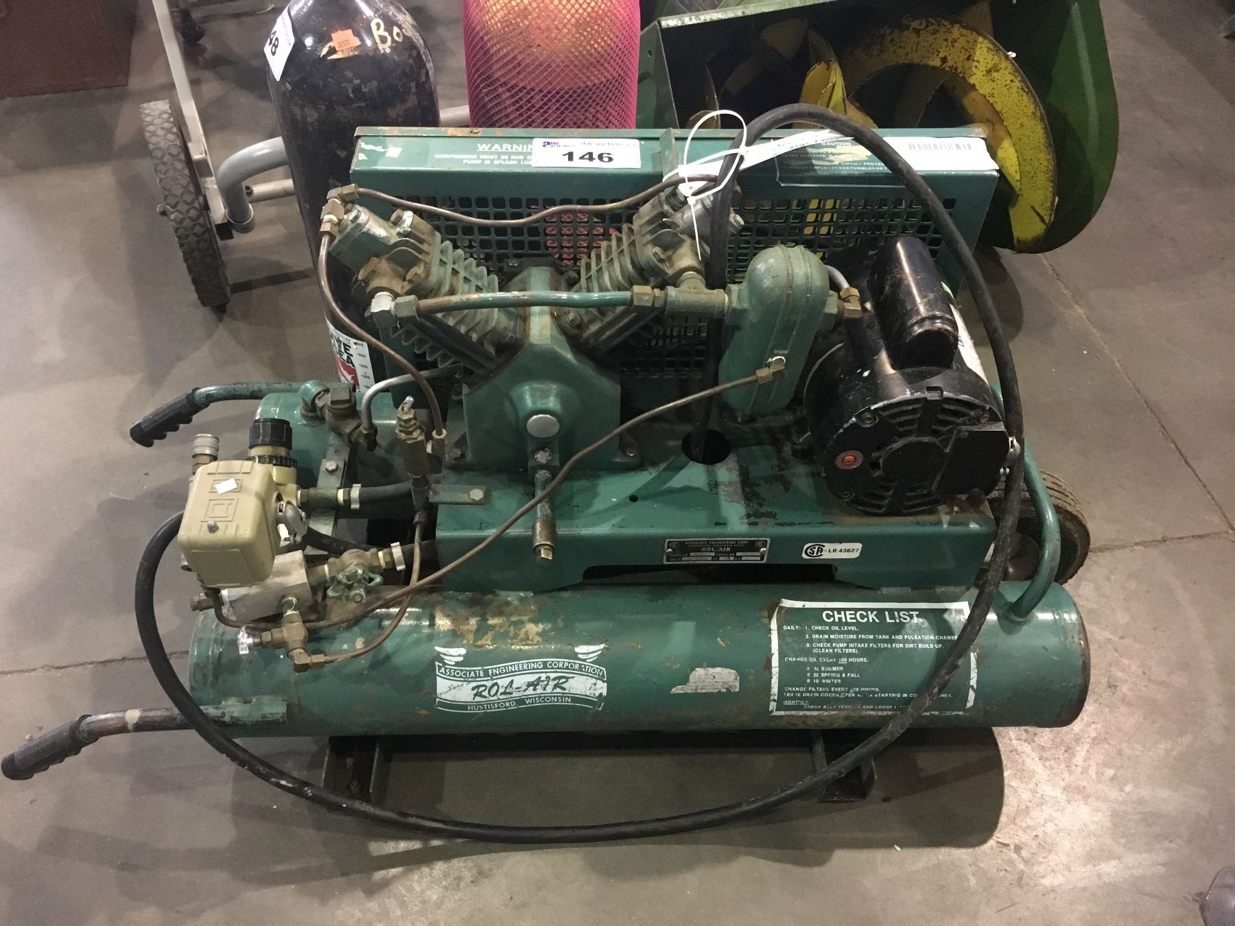 ROL AIR AIR COMPRESSOR MODEL#V2273