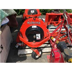 KUBOTA MODEL F2535D BLOWER ATTACHMENT