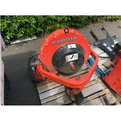 KUBOTA MODEL 2535D BLOWER ATTACHMENT
