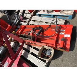 KUBOTA MODEL B2763 SNOW PLOW ATTACHMENT