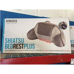HOMEDICS SHIATSU BED REST PLUS MASSAGE CUSHION WITH HEAT