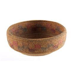 Southwest Native American Indian Polychrome Basket