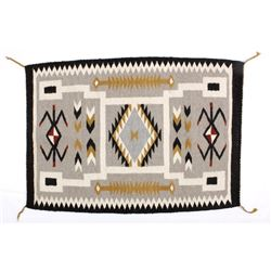 Early Navajo Klagetoh Pattern Wool Rug RARE