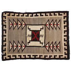 Navajo Klagetoh Pattern Wool Rug circa 1900