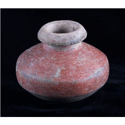 Mississippian Culture Pottery Jar Vessel