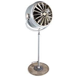 Vintage Westinghouse Industrial Standing Floor Fan