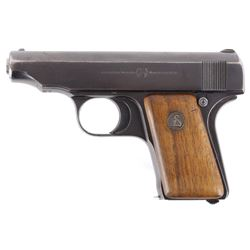 German Deutsche Werke Ortgies 25 ACP Pocket Pistol