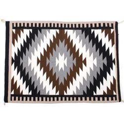 Exceptional Navajo Chinle Pattern Wool Rug